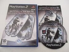 MEDAL OF HONOR LES FAUCONS DE GUERRE - SONY PLAYSTATION 2 PS2 PAL FR COMPLET