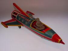 """gsTOP GSR ROBOT """"FIRE SPACE ROCKET X-0077"""" YONEZAWA,37cm,SEHR GUT/VERY GOODnBOX"""
