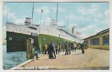 Shipping postcard - Steamers Juniata and Tionesta