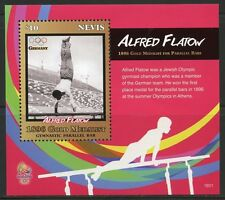 NEVIS  2016 RIO OLYMPIC GAMES ALFRED FLATOW GOLD MEDALLIST S/SHEET MINT NH
