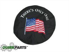 2007-2017 Jeep Wrangler Tire Cover USA FLAG OEM MOPAR GENUINE BRAND NEW