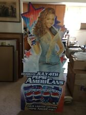 Beyonce 6ft. Cardboard Cut Out Pepsi Celebrate July 4th AmeriCans Promo Rare