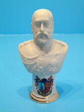 Arcadian Crested China Bust of Edward VII - Sunningdale