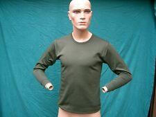 Chaleco Thermal Ropa interior,manga larga Camiseta interior,oliva,Talla 108/
