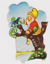 (OS30) 1940's GB swamps pixy birds in trees