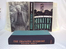 Walker Percy 1st/1st THE THANATOS SYNDROME Fine!