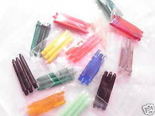 20 sets dart shafts-Assorted-Colours. All Short length-2BA