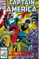 Captain America Continue The War Against Drugs #2 New Warriors Marvel Comics