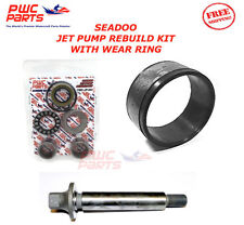 SEADOO Jet Pump Rebuild Kit Wear Ring Impeller Shaft Seal 951 GSX Ltd LRV DI 947