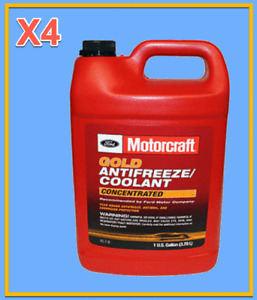 4 Gallons OEM FORD Engine Coolant/Antifreeze Motorcraft VC7B GOLD Concentrated