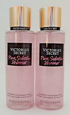 2 VICTORIA'S SECRET PURE SEDUCTION SHIMMER FRAGRANCE MIST 8.4oz 250ml NEW!