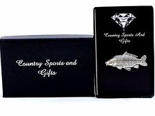 Common Carp Finest English Pewter Lapel Pin Badge Brooch - Hand Made - Gift Box