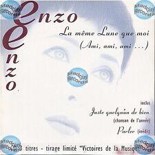 ENZON ENZO LA MEME LUNE QUE MOI CD SINGLE edition limitee NEUF