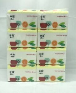 Tissue paper Pocket Up To 32 packs/6400pcs Pack White Facial Tissues Facial Tiss