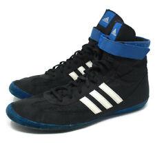 🔴 Adidas Men's Combat Speed 4 High-Top Wrestling Size 14 Blue & Black Q33808