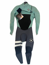 NEW Hurley Mens Full Wetsuit Size XS Fusion 3/2 Chest Zip - Retail $250