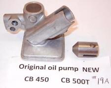 1965-1974 Honda CB450 genuine Honda New Old Stock oil pump body WITH piston #19A