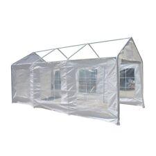 ALEKO Canopy Polyethylene Sidewalls White Walls for 10X20 Carport