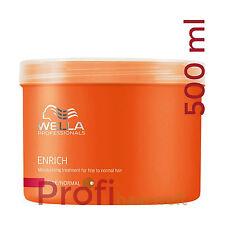 Wella Care Enrich Maske für feines bis normales strapaziertes Haar, 500 ml