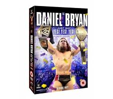 """Official  WWE - Daniel Bryan """"Just Say Yes! Yes! Yes!"""" DVD (3 Disc Set)"""