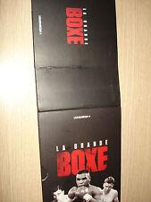 BOX COFANETTO VUOTO PER 20 DVD LA GRANDE BOXE GAZZETTA DELLO SPORT PUGILATO