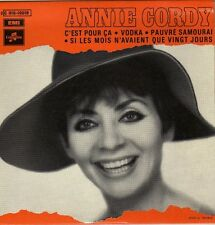 ANNIE CORDY VODKA FRENCH ORIG EP HUBERT ROSTAING