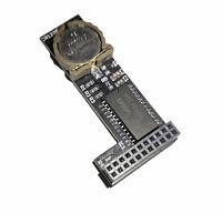 Neu Echt Zeit Rtc Modul Uhr Für Amiga 1200 Clockport + 1220 Batterie #712