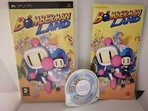Bomberman Land pour Sony PSP PAL FR Complet