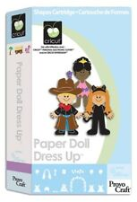 CRICUT *PAPER DOLL DRESS UP* CARTRIDGE KID'S COSTUMES, DOLL OUTFITS, CLOTHES NEW
