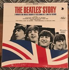 """SEALED """"The Beatles Story"""" PROMO Double LP 