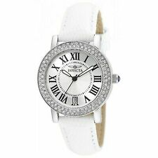 Invicta 21996 Womens Angel Quartz Stainless Steel and Leather Casual Watch
