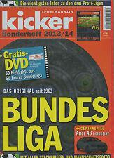 Orig.Kicker Sonderheft   Bundesliga 2013/14 // alle Daten, Spieler, etc  !!  TOP