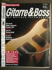 GITARRE & BASS 1991 # 8 - ROBERT JOHNSON SESSION TIPS VERNON REID RORY GALLAGHER
