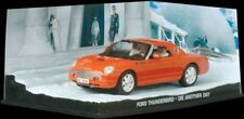 JAMES BOND COLLECTION- FORD THUNDERBIRD -DIE ANOTHER DAY -DIARAMA DISPLAY- 1:43