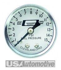Sr.. Junta # 1561 combustible manómetro analógico 0-15 lb.