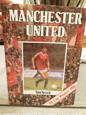 MANCHESTER UNITED Hardcover Book. (1985)