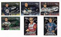 2001 Trackside VARIOUS INSERTS PICK LOT-YOU Pick any 2 of the 6 cards for $1!
