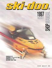 Ski-Doo service shop manual 1997 TUNDRA II LT & 1997 TOURING E / LE / E LT / SLE