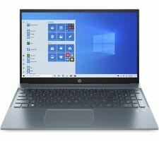"HP Pavilion 15-eh0522sa 15.6"" Laptop - AMD Ryzen 3, 256 GB, Blue - Currys"