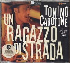 TONINO CAROTONE - Un Ragazzo di strada - CD 2003 NEW NOT SEALED 2 TRACK
