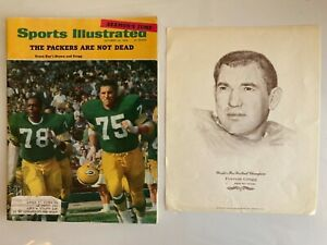Forrest Gregg,  Packers1968 Sports Sports Illustrated, 1967 Williams Adv.Print.