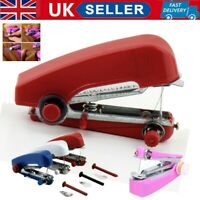 Portable Hand-Held Sewing Machine Home Mini Cordless Clothes Fabric Pocket Tools