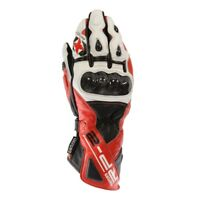 Oxford RP-2 Armoured Leather Motorcycle Motorbike Racing Sports Gloves Red SALE