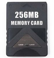 256MB Megabyte Memory Card For Sony PlayStation 2 PS2 Slim Game Data Console