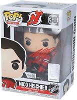 Nico Hischier New Jersey Devils Signed Funko Pop! Figurine - LE 100 - Exclusive