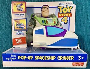 Disney Pixar, Toy Story 4, Pop-up Spaceship Cruiser Buzz Lightyear NEW