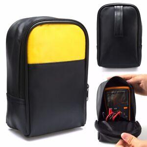 Schutztasche mit Reißverschluss Tasche für Multimeter & Messgeräte Schwarz DE