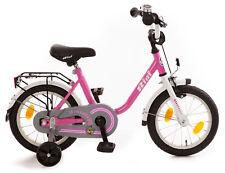 """Kinderfahrrad 14"""" Zoll (=35,6cm) BIBI pink Stützräder + Seitenständer NEU/OVP"""