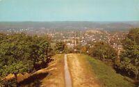 Huntington West Virginia~Birdseye Panorama~Lions Lookout Tower~1963 Postcard