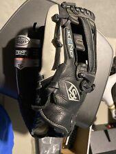 "New Louisville Slugger Xeno Series Xeno Fastpitch Softball Glove 12.5"" LHT  Blk"
